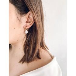 Boucles d'oreilles Louyou étoile