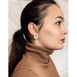 Boucles d'oreilles Luna en argent 925